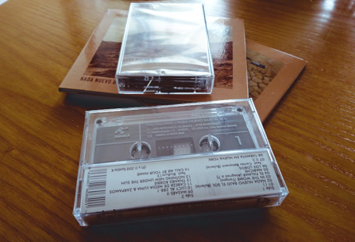 Want a CD? Or even better, a good old cassette tape?!